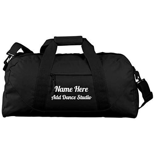 Custom Dance Practice Bag For Teens: Liberty Large Square Duffel Bag