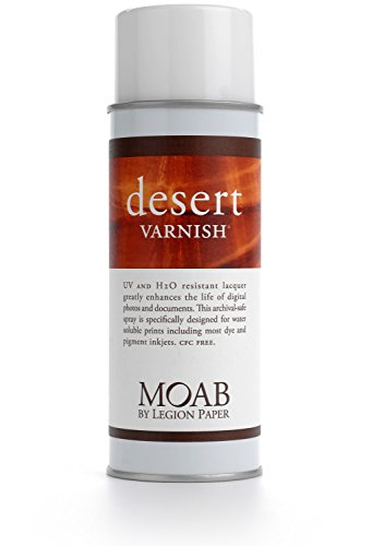 (Moab Desert Varnish, Archival Digital Print Protection Spray, 13.5oz)