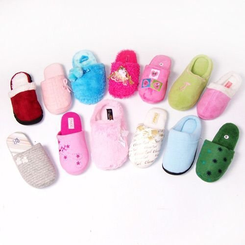 DDI Womens Fleece Slippers Assorted- Case of 36 by DDI