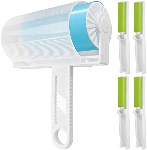 Portable Small Lint Sticky Picker Pet Hair Brush Dust Remover Roll Cleaner