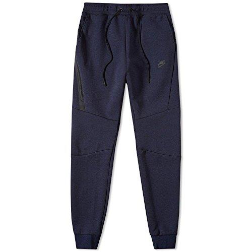 Nike Mens Sportswear Tech Fleece Jogger Sweatpants (Small, OBSIDIAN HEATHER/BLACK)