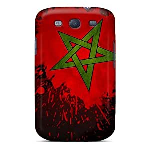 Galaxy S3 Case, Premium Protective Case With Awesome Look - Maroc