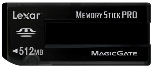 Lexar Media 512 MB Memory Stick Pro