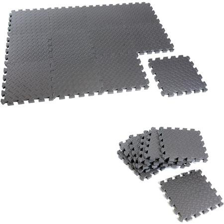 CAP Barbell 12-Piece Puzzle Mat, Protects Floors and Waterpr