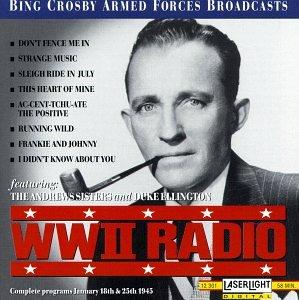 WWII Radio Broadcast January 25, 1945 and January 18, 1945 Christmas Broadcast Radio