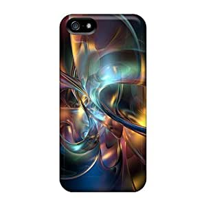 Awesome 3d Abstract Flip Cases With Fashion Design For Iphone 5/5s by heywan