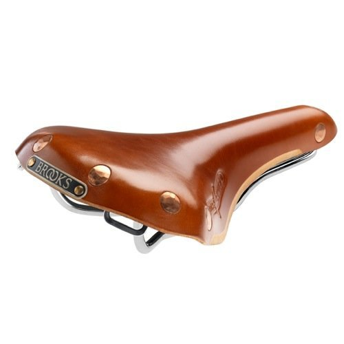 Brooks Saddles Swift Bicycle Saddle Mens Chrome Rails Honey