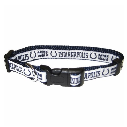 Indianapolis Colts Dog Collar - Pets First NFL Indianapolis Colts Collar, Large