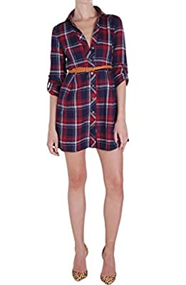 Humble Chic Perfect Plaid Dress - Long Sleeve Belted Flannel Shirtdress