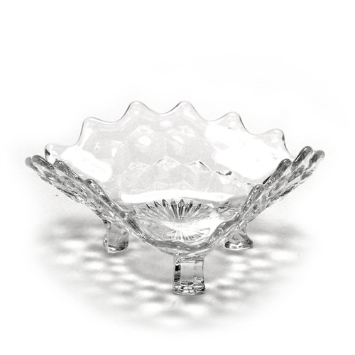 Toed Candy Dish (American by Fostoria, Glass Tricorne Dish, 3-Toed)
