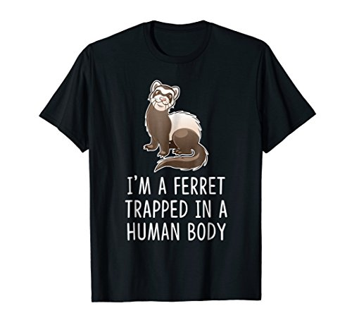 (I'm A Ferret Animal Halloween Costume for Kids Women)