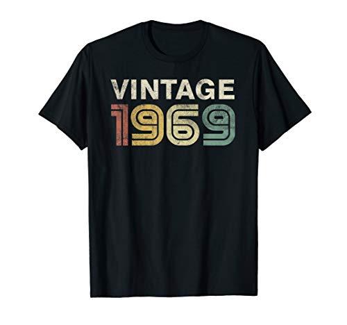 50th Birthday Gift For Men Women Vintage 1969 -