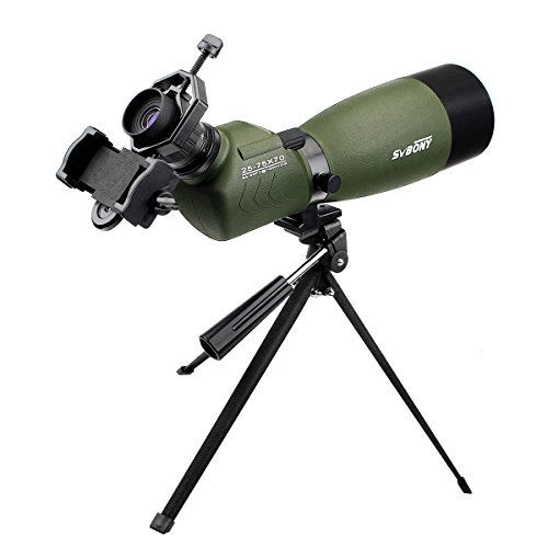 SVBONY 25-75x70 Outdoor Shooting Hunting Waterproof Spott...