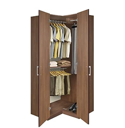 Ordinaire Bella Corner Wardrobe   Corner Closet W Three Hangrods