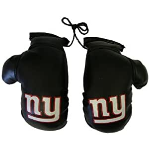 nfl new york giants mini boxing gloves 4 automotive interior accessories. Black Bedroom Furniture Sets. Home Design Ideas