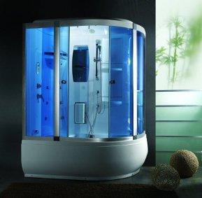 Venus - Cabina de ducha de hidromasaje, 165x 100 cm
