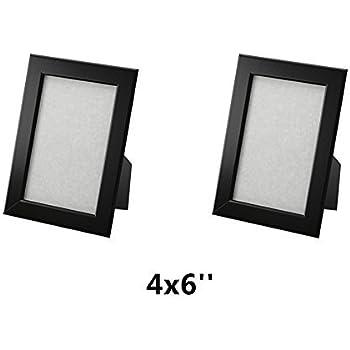 Amazoncom Ikea Fiskbo Frame Black 4 X 6 2 Pack