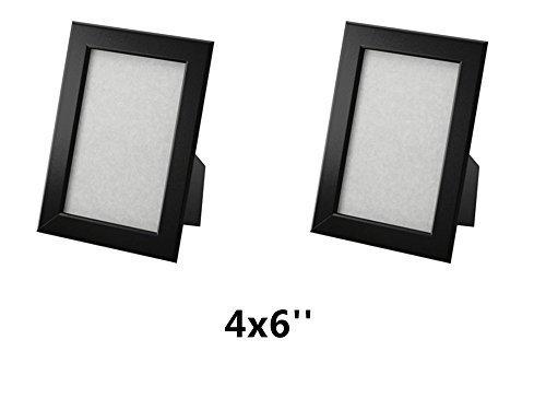 "Ikea Fiskbo Frame, Black, 4"" X 6"""