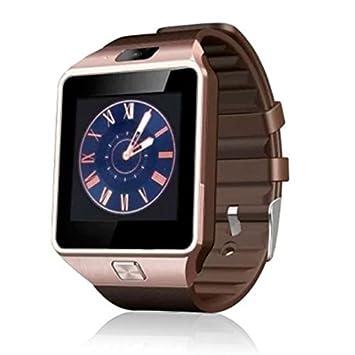 Generica - Smartwatch dz09 sim y SD Bronce