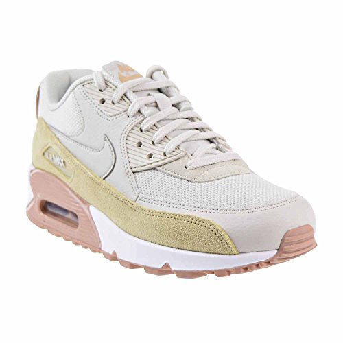 Nike Wmns 90 Scarpe Light mushroom Sportive particle Bone white Pink 325213046 Bone Light Max Air xrrdtSg