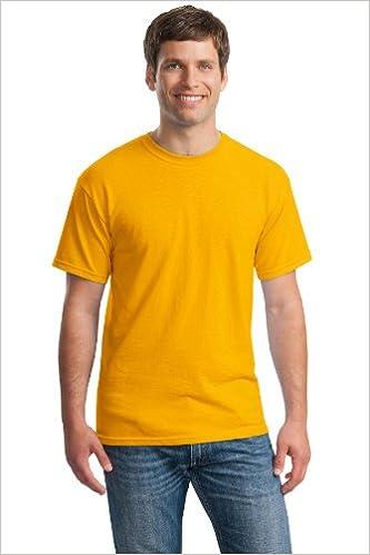 Gildan Mens Heavy Cotton T-Shirt 10 Pack