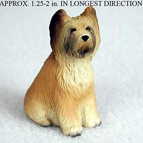 - Ky & Co YesKela Briard Mini Hand Painted Figurine