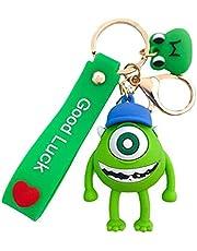 Cartoon Keychain Keyring Bag Buckle Purse Pendant Car Mobile Ornament Pendant