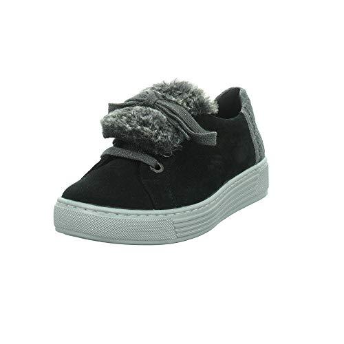 Zapatos Mujer Negro para de Cordones Solidus zaW0xdTz