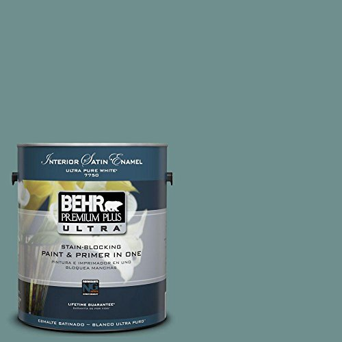 (1-Gal. #UL220-19 Dragonfly Interior Satin Enamel Paint)