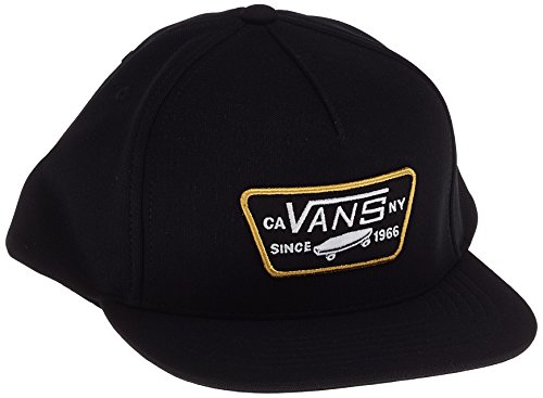 Vans Full Patch Snapback, Gorra de béisbol para Hombre Negro (Black-tawny Olive Kwg)