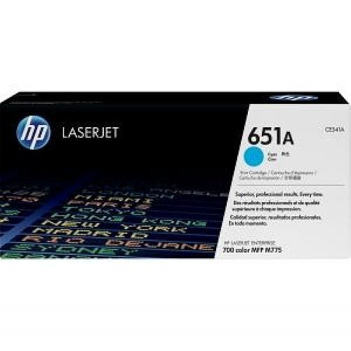 HP CE341AC LaserJet Toner Cartridge (Cyan) Toner Cartridges at amazon