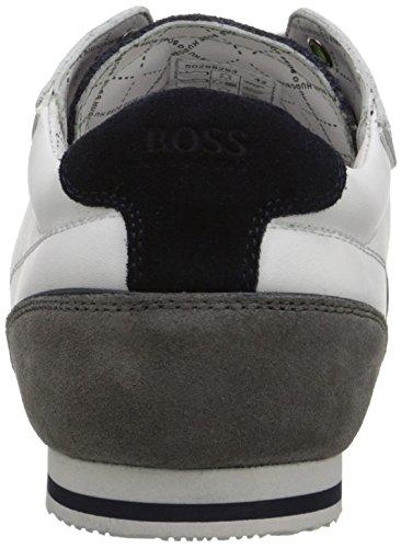 Hugo Boss Boss Green Med Mens Victoire Fiction Mode Sneaker Vit