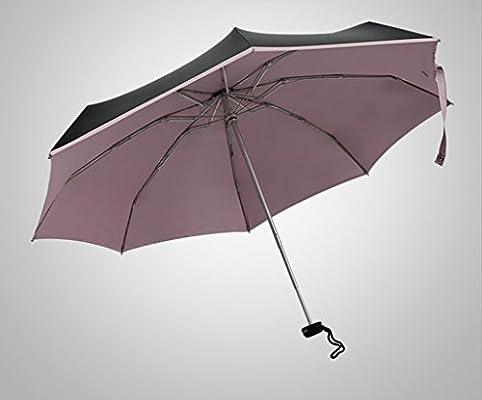 9aeb38c0af1d JSSFQK Umbrella Female Fold Five Fold Ultrashort Ultra-light Sun ...