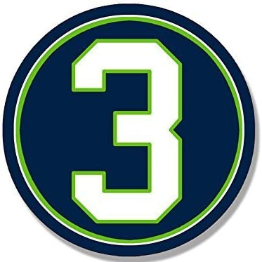 Seattle Home Sport Decal 5 X 4 Seahawks Football
