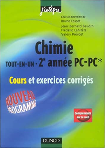 Chimie tout-en-un 2e année PC-PC* : Cours et exercices corrigés pdf, epub