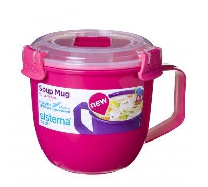 Sistema To Go Suppentasse, 565 ml, Pink