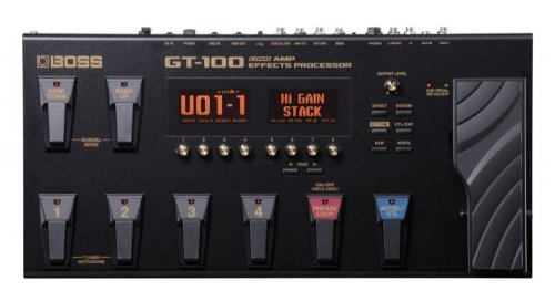 BOSS Electric Guitar Single Effect (GT-100)