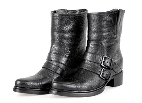 Boot Half Leather 41 US Miu Miu Black Women's 5U8855 by Prada 11 EU v8xvwBq