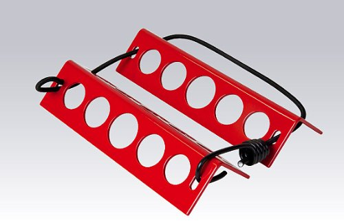 Chock Aluminum (DeGroff Aviation Aluminum Chocks - Red)