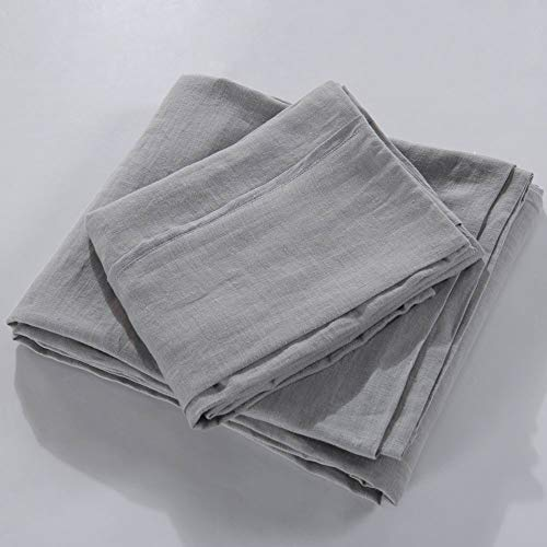 meadow park Luxurious Pure Linen Sheet Set