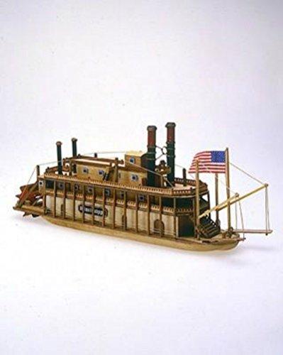 Kit Mississippi Model (Mississippi - Mini Model Ship Kit by Mamoli)