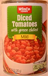 Winco Brand Diced Tomatoes \