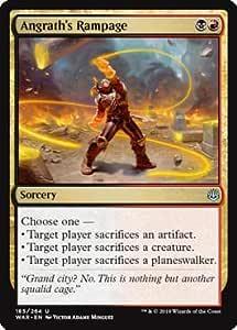 Magic: the Gathering - Angraths Rampage - Frenesia di Angrath - War of The Spark: Amazon.es: Juguetes y juegos