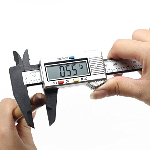 FineSource Electronic Digital Caliper Inch//Metric Conversion 0-6 Inch//150 mm