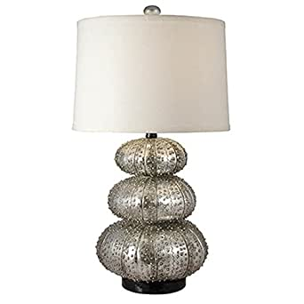 Regina Andrew Stacked Silver Sea Urchin Lamp Table Lamps