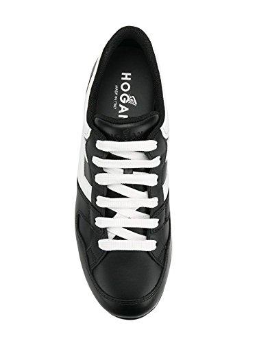 Donna Sneakers Scarpa H Pelle HXW2220T548I8G089A Bianco H222 Hogan Nero Nero xARwqFx