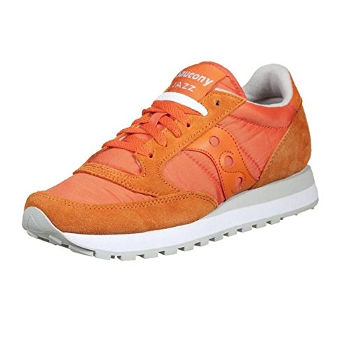 Baskets Saucony Jazz Sneakers Beige Chaussures Orange Original Femme en Daim C5qR5B6