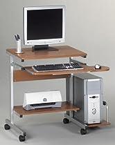 MLN946MEC - Portrait PC Desk Cart Mobile Workstation