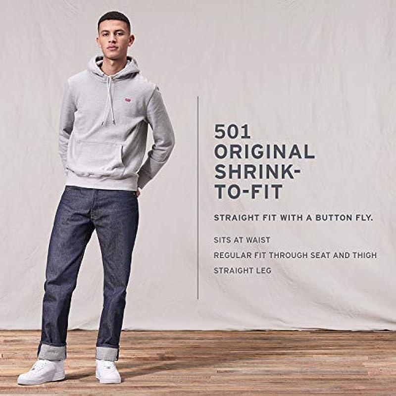 Levi's 501 Original Shrink-to-fit dżinsy męskie: Odzież