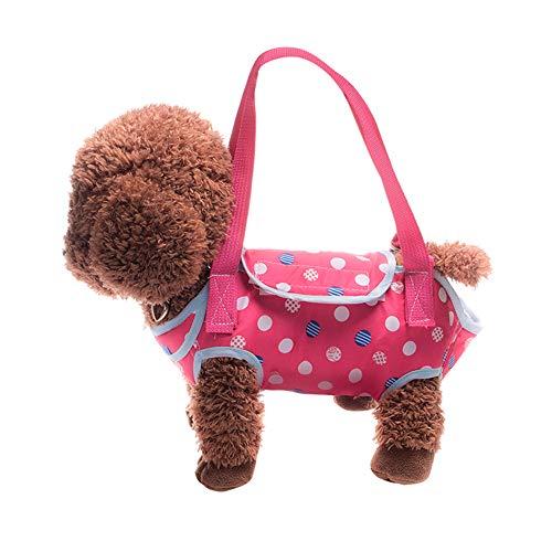 Pet Dog Carrier Slings Soft Sided Pet Carriers Messenger Handbag for Teddy,Tenerife Dog, Burmilla